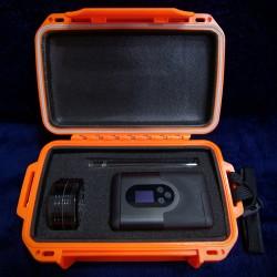 La Vape Case 18x  ouverte (Arizer Go, stem et grinder non fournis)